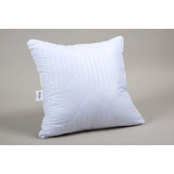 Подушка антиаллергенная Lotus Hotel Line Страйп 1х1, стеганая, белая