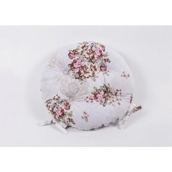 Подушка на стул Lotus круглая Simona кофе