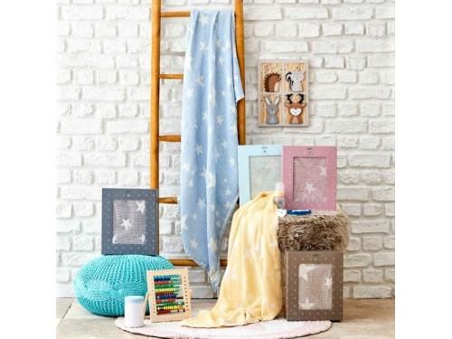 Детское покрывало пике Baby star mavi 2000022253796 от Karaca Home в интернет-магазине PannaTeks