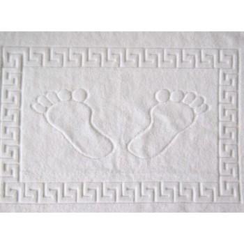 Отельное белое полотенце для ног, Lotus, 2000008472944 фото 1