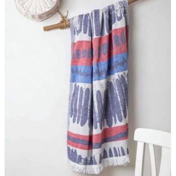 Полотенце пештемаль для хамама и пляжа Dante