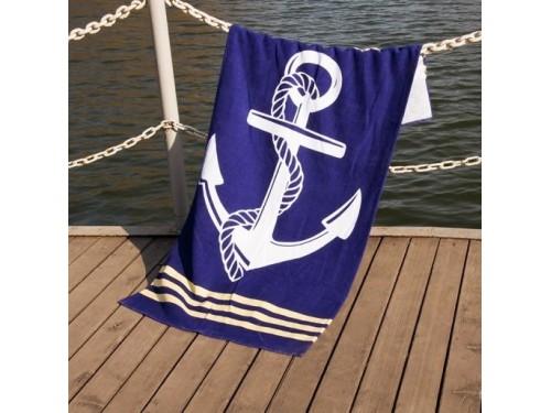 Пляжное полотенце Deep Sea велюр 061223 от Lotus в интернет-магазине PannaTeks