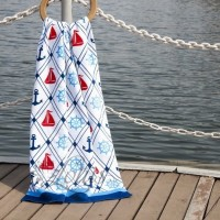 Пляжное полотенце Anchorage велюр