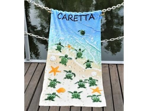 Пляжное полотенце Caretta велюр 217255 от Lotus в интернет-магазине PannaTeks