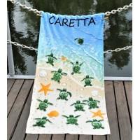 Пляжное полотенце Caretta велюр