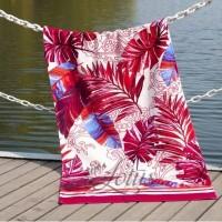 Пляжное полотенце Paradise Fusya велюр