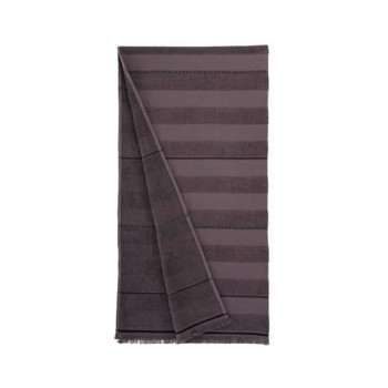Пляжное полотенце Atlas antrasit антрацит 90х170 Турция