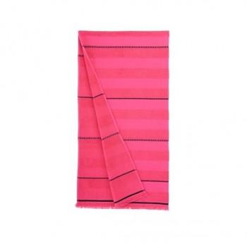 Пляжное полотенце Atlas fusya розовое 90х170 Турция
