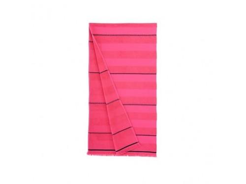 Пляжное полотенце Atlas fusya розовое 90х170 Турция 255639 от Buldans в интернет-магазине PannaTeks