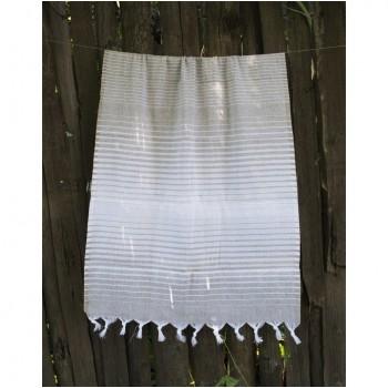 Полотенце Lotus Pestemal Beige Micro stripe