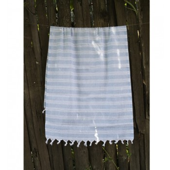 Полотенце Lotus Pestemal Blue Hard stripe 2000022187114 от Lotus в интернет-магазине PannaTeks