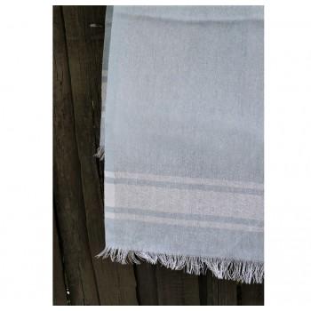 Полотенце Lotus Pestemal Blue Simple stripe фото 1