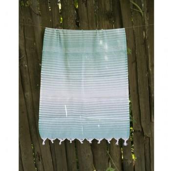 Полотенце Lotus Pestemal Green Micro stripe 2000022187145 от Lotus в интернет-магазине PannaTeks