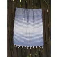Полотенце Lotus Pestemal Navy-blue