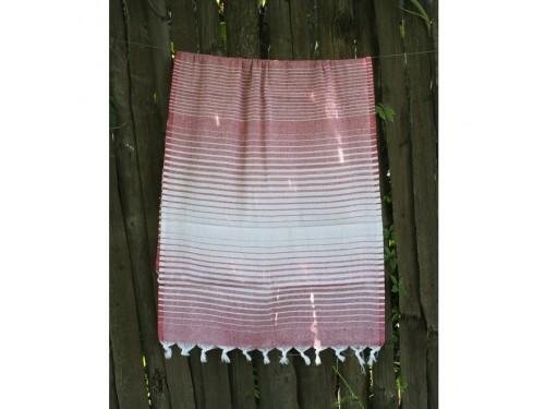 Полотенце Lotus Pestemal Red Micro stripe 2000022187060 от Lotus в интернет-магазине PannaTeks