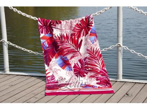 Полотенце Lotus пляжное Paradise Fusya велюр 2000022173834 от Lotus в интернет-магазине PannaTeks