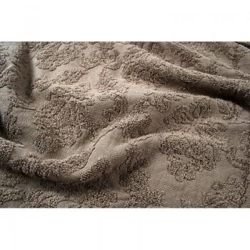 Махровая простынь покрывало евро 200х220 Crown коричневый Турция фото 1