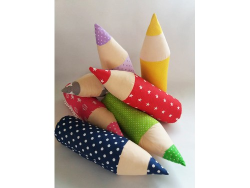 Детская декоративная подушка-валик Карандаш Подушка ПС-016 от TAG tekstil в интернет-магазине PannaTeks