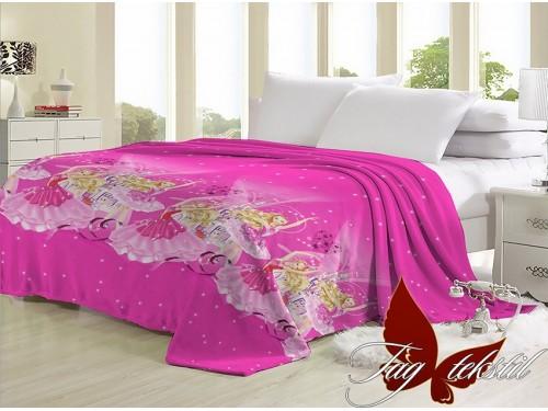 Плед детский для девочки Барби велсофт VL162905 от TAG tekstil в интернет-магазине PannaTeks