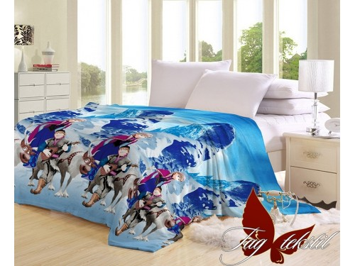Детский плед на кровать микрофибра Фрозен VL101926 от TAG tekstil в интернет-магазине PannaTeks