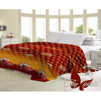"""Плед велсофт """"Тачки"""" VL15748 от TAG tekstil в интернет-магазине PannaTeks"""