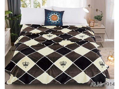 Плед велсофт (микрофибра) ALM1914 ALM1914 от TAG tekstil в интернет-магазине PannaTeks