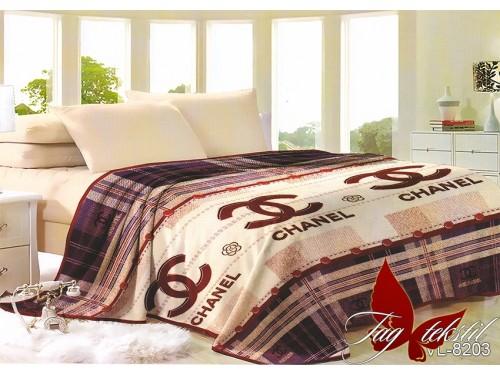 "Плед велсофт ""Chanel 2""  VL8203 от TAG tekstil в интернет-магазине PannaTeks"