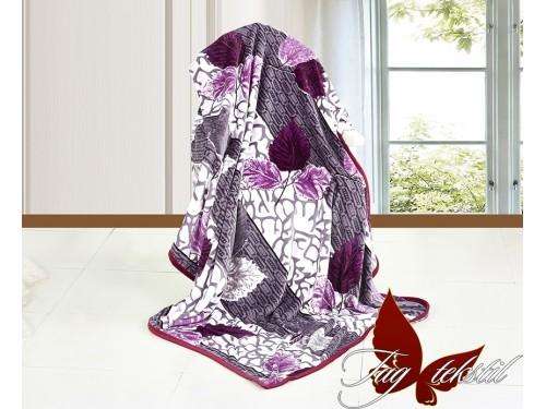 """Плед велсофт """"Ежевика"""" VL1414 от TAG tekstil в интернет-магазине PannaTeks"""