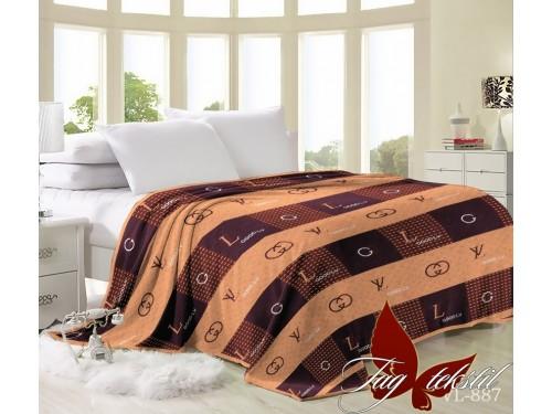 """Плед велсофт """"Louis Vuitton 2"""" VL887 от TAG tekstil в интернет-магазине PannaTeks"""