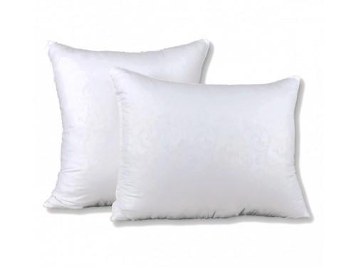 Подушка лебяжий пух/микрофибра, белая, антиаллергенная, ПС-013 ПС-013 от TAG tekstil в интернет-магазине PannaTeks