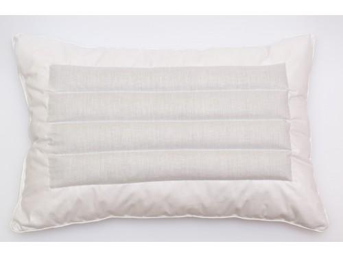 Ортопедическая подушка из гречневой лузги (гречиха) и холлофайбера  ПС-010 от TAG tekstil в интернет-магазине PannaTeks