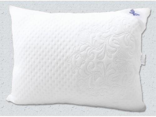 Гипоаллергенная подушка холлофайбер, белая, стеганая Soft collection  ПС-017 от TAG tekstil в интернет-магазине PannaTeks
