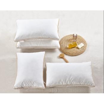 Антиаллергенная подушка из лебяжего пуха, белая, с бортом, ПС-033 фото 3