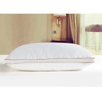 Антиаллергенная подушка из лебяжего пуха, белая, с бортом, ПС-033 фото 2