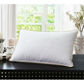 Антиаллергенная подушка из лебяжего пуха, белая, с бортом, ПС-033 фото 4