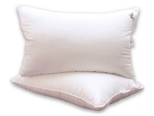 Подушка из био пуха Eco-страйп, антиаллергенная, белая ПС-62 от TAG tekstil в интернет-магазине PannaTeks