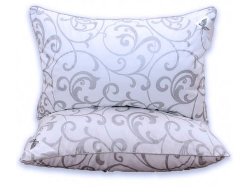 Подушка из эко-пуха Eco-venzel, антиаллергенная, белая ПС-68 от TAG tekstil в интернет-магазине PannaTeks