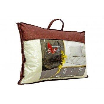 Гипоаллергенная подушка холлофайбер, белая, стеганая Soft collection  фото 2