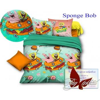 """Покрывало стеганое хлопок """"Sponge Bob"""""""