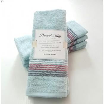 Набор полотенец для кухни голубой