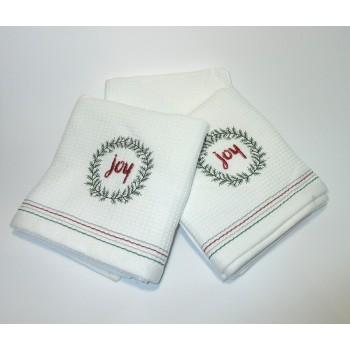 Набор вафельных полотенец №1