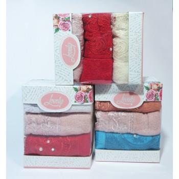 Набор полотенец для кухни Lovely кружева фото 1
