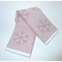 Набор полотенец для кухни Снежинки