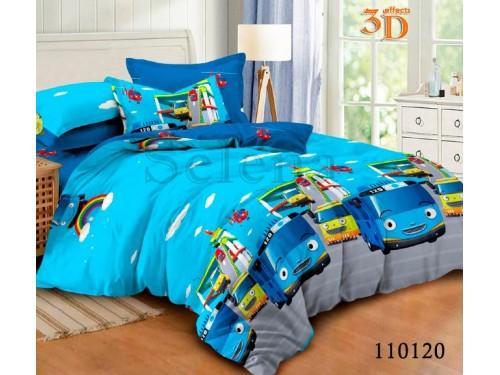 Детское постельное белье бязь Автобус 110120 от Selena в интернет-магазине PannaTeks