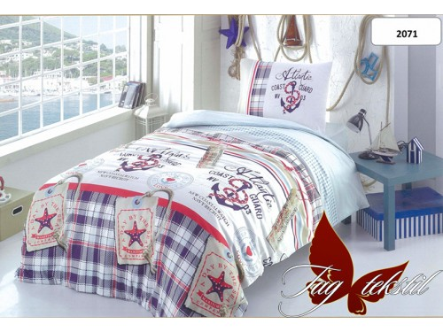 """Комплект подростковый ранфорс """"Береговая охрана"""" R2071 от TAG tekstil в интернет-магазине PannaTeks"""