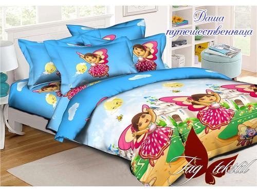 """Комплект подростковый ранфорс """"Даша-путешественница"""" Даша-путешественница от TAG tekstil в интернет-магазине PannaTeks"""
