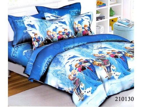 Детское постельное белье ранфорс Фрозен - Холодное Сердце 210130 от Selena в интернет-магазине PannaTeks