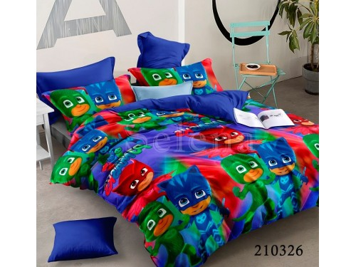 """Комплект подростковый ранфорс """"Маски"""" 210326 от Selena в интернет-магазине PannaTeks"""