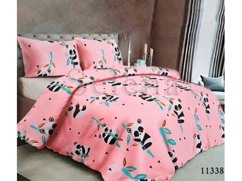 Детское постельное белье бязь Панды Pink 110338 от Selena в интернет-магазине PannaTeks