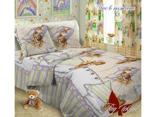 Детское постельное белье поплин Пес в пижаме Пес в пижаме от TAG tekstil в интернет-магазине PannaTeks